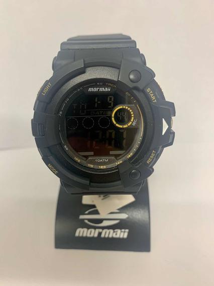 Relógio Mormaii Masculino Preto Mo15100ab/8p