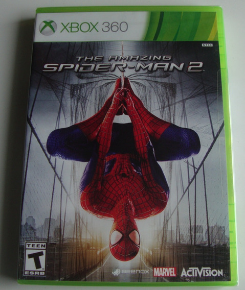 The Amazing Spider Man 2 Xbox 360 Original Lacrado