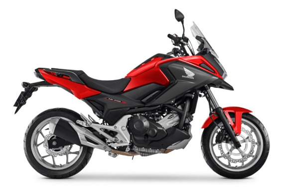 Honda Nc 750x - Vermelho 0km Sem Entrada