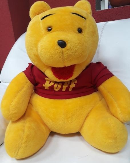 Ursinho De Pelúcia Pooh Puff Grande 60cm Com Frete Grátis