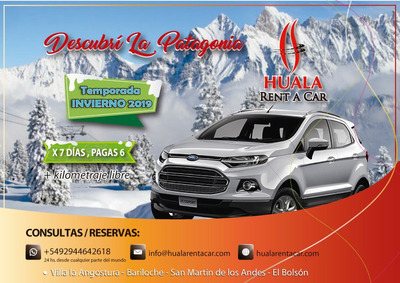 Alquiler De Autos Bariloche - Patagonia Argentina Rent A Car