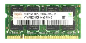 Memória Ddr2 Hynix 2gb 667mhz Acer Aspire Notebook 5738 Ddr2