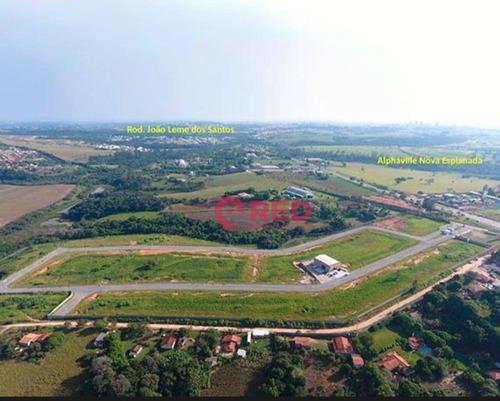 Terreno À Venda, 1287 M² Por R$ 774.000,00 - Parque Santos Dumont - Votorantim/sp - Te0255