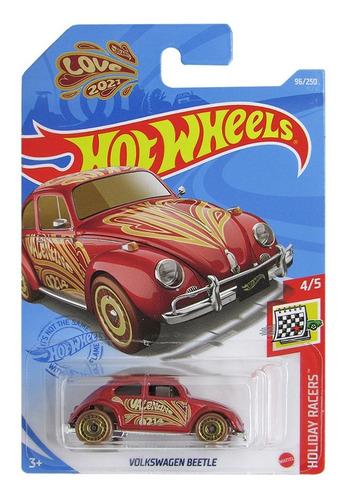 Carrinho Hot Wheels À Escolha - Edição Holiday Racers Mattel