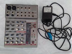 Mixer Phonic Am 105 Fx