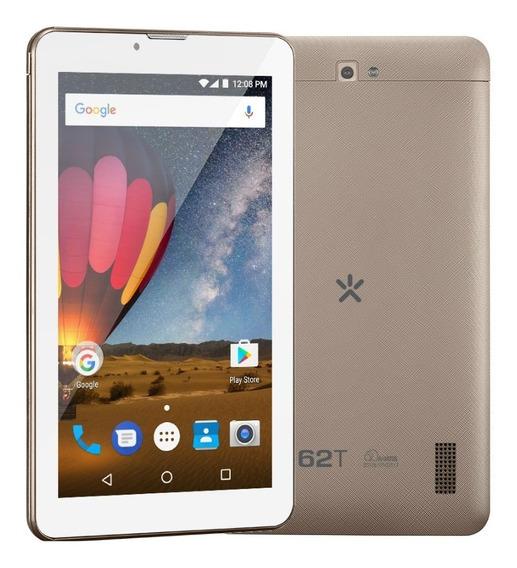 Tablet Mirage 62t 8gb Wi-fi Tela 7 Android 3g Dourado 2007