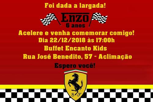 Convite Digital Ferrari