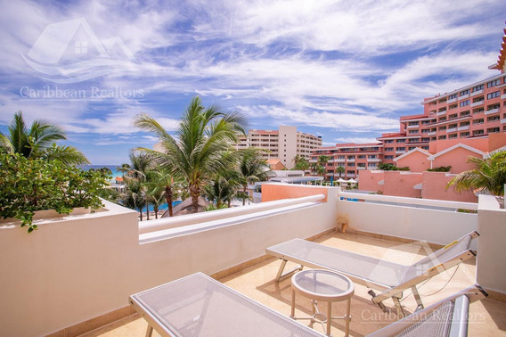 Casa Frente Al Mar En Venta En Cancun Zona Hotelera Omni Villas @caribbeanrealtors