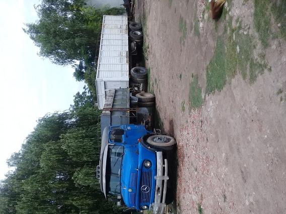 Mercedez Benz 1114 Turbo Volcador Con Acoplado Cerealero