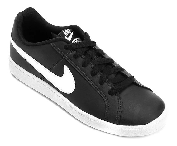 Tênis Nike Court Royale Masculino Preto Original Couro 10484