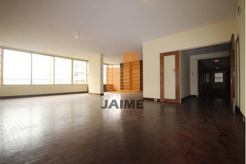 Apartamento Para Venda No Bairro Higienópolis Em São Paulo - Cod: Ja3669 - Ja3669
