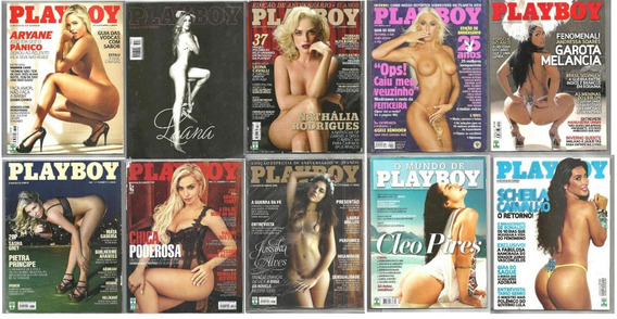 Lote Revistas Playboy - Melancia Feiticeira Cleo Pires