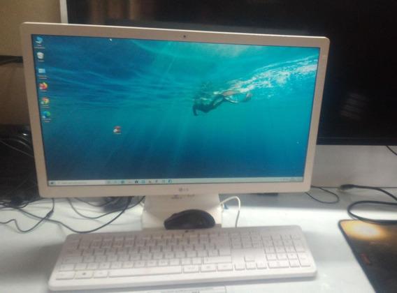 Computador All In One LG 22 , Windows 10, 4gb, Hd 500gb