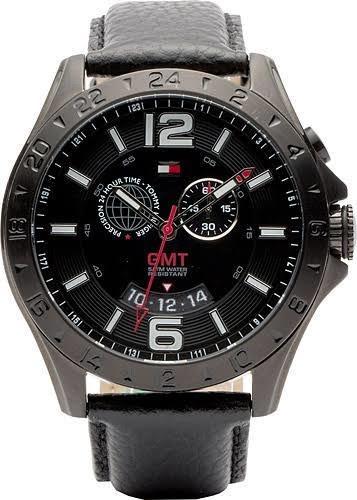 Relógio Tommy Hilfiger Th1790972 Orig Chron Anal Black
