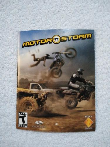 Manual Do Game Motor Storm Ps3 ** Leia