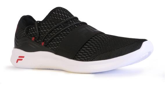 Zapatillas Fila Trend Running Hombre Negro/rojo Oficial