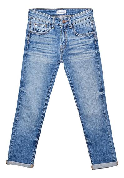 Jeans Slim De Niños C&a 1053647