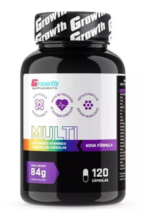 Multivitaminico 700mg 120 Cápsulas Growth Original