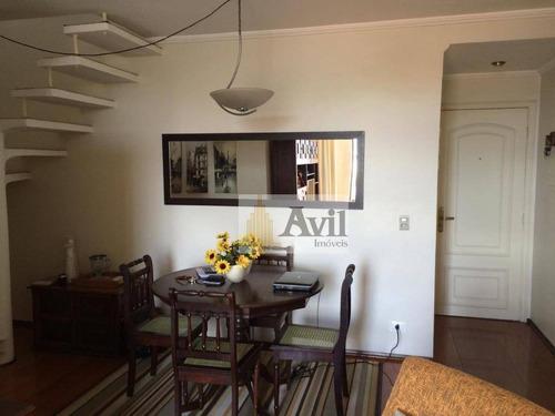 Cobertura Com 3 Dormitórios À Venda, 150 M² Por R$ 480.000,00 - Jardim Popular - São Paulo/sp - Co0081