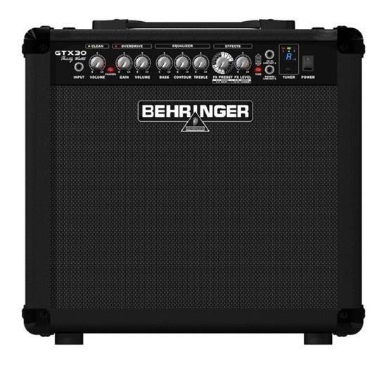 Amplificador De Guitarra Behringer Gtx30 30w 2 Canales