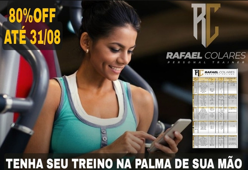 Imagem 1 de 2 de Ficha De Treino De Musculação Pronta 80% Off