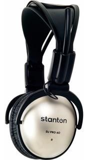 Auriculares Stanton Dj Pro 60 Cerrados Con Vincha C/funda