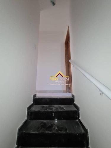 Sobrado Com 1 Dormitório À Venda, 57 M² Por R$ 215.000,00 - Sítio Do Campo - Praia Grande/sp - So0101