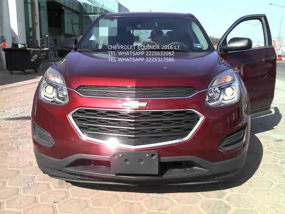 Chevrolet Equinox 2016 Lt 2.4 Lts Aut 4 Cil Eng $ 47,600