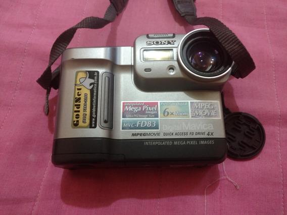 Câmera Sony Mavica Mvc-fd83