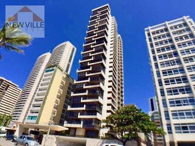 Apartamento Com 4 Quartos À Venda, 427 M² Por R$ 3.200.000 - Av. Boa Viagem - Recife/pe - Ap1194