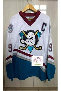 Jersey Nhl Hockey Anaheim Mighty Ducks Super Patos Vários