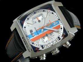 Relógio Th Mônaco 24 Automático Cronos 100% Funcionais