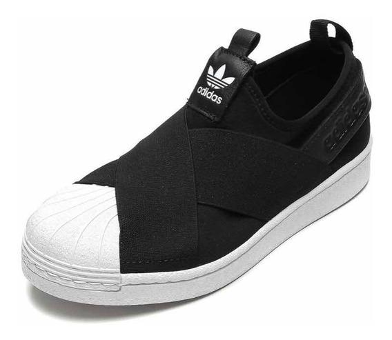 Tênis adidas Originals Superstar Slip On W Preto