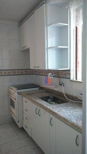 Apartamento Com 2 Dormitórios À Venda, 56 M² Por R$ 191.489,39 - Parque São Vicente - Mauá/sp - Ap0584