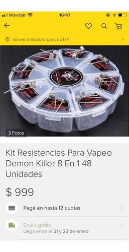 Kit Resistencias Demon Killer