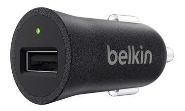 Cargador Premium 12 Volts 2.4 Amp Belkin Negro