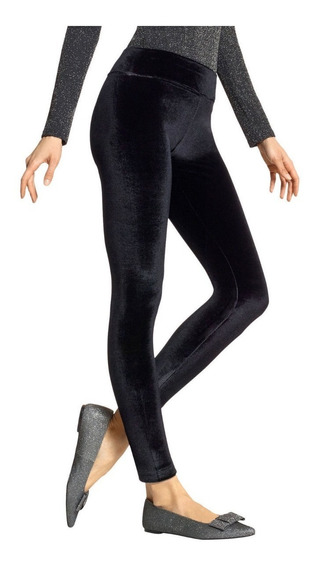 Kensie Leggins De Terciopelo Pantalón Skinny. Talla Xs