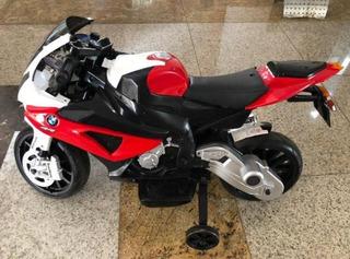 Moto Elétrica Bmw Infantil Bel Fix