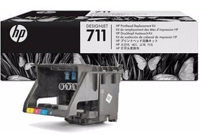 Cabezal 711 Plotter Hp T120, T520 Con Kit De Cartuchos