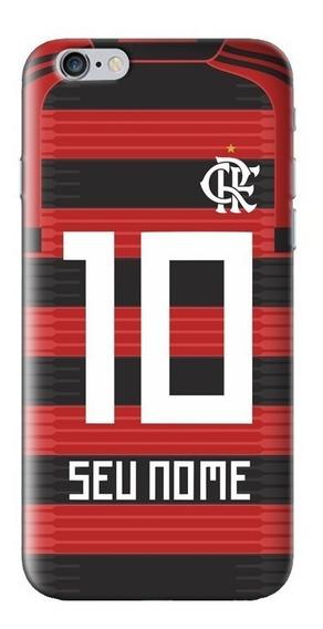 Case Capinha Celular Flamengo Oficial Diversos Smartphones