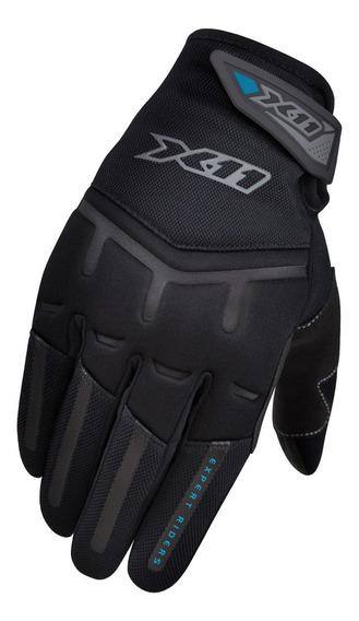 Luva X11 Fit X Preta Feminina Motociclista Protege Do Frio