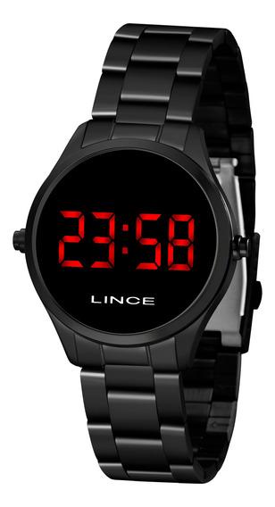 Relógio Lince Mdn4618l Vxpx Digital Preto Led Vermelho
