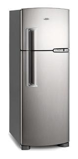 Heladera No Frost Whirlpool Wrm39d2 Inox Con Freezer 354l