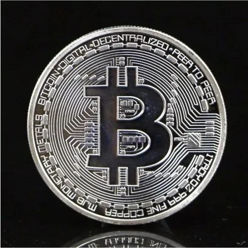 Moneda Física De Colección Bitcoin Premium Con Estuche