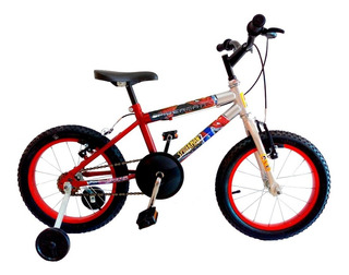 Bicicleta Samy Masculina Aro 16 Ad. Homem Aranha