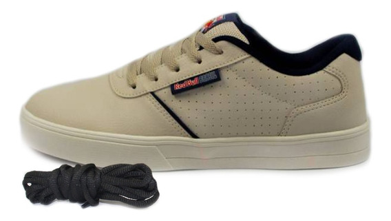 Tênis Red Bull Skate Andeck Rbb Ice White Promo + Brinde