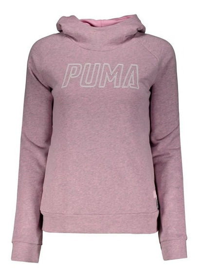 Moletom Puma Athletics Feminino Rosa