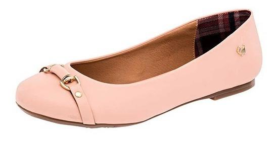 Zapatos Flats Para Dama Ferrioni Q61-006-01 Mq Poi19