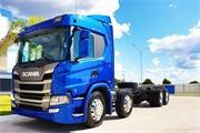 Scania P 320 Bitruck 8x2 Automatico ( Chassi ) Ano 2020