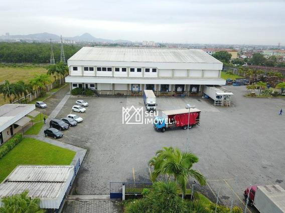 Galpão À Venda, 3345 M² Por R$ 29.000.000 - Jardim Casqueiro - Cubatão/sp - Ga0044
